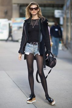 How to dress like a Victoria's Secret model by channelling their off-duty style on Glamour.com
