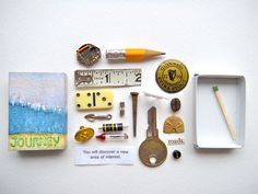 journey   matchbox treasure by artinredwagons on Etsy, $15.00