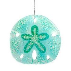 Home / Shop / Products / Sand Dollar Fused Art Glass Suncatcher
