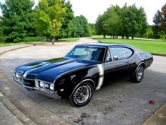 1968 Oldsmobile Cutlass 442. Awesome American Muscle!