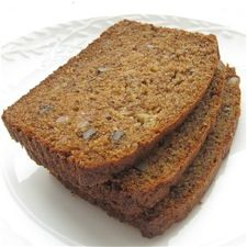 My new favorite banana bread. The cinnamon chips and jam make it the best. I've used mango butter and lemon curd for the jam.