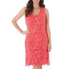 Crochet Lace Dress - The Miilla Boutique - Events