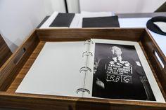 Alle Foto-Papiere zum Anfassen ...