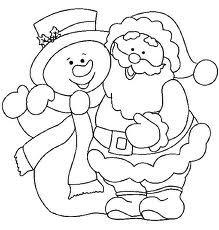 kerst-, en sneeuwman