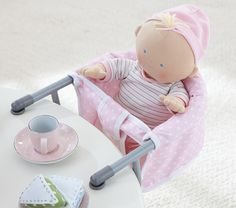 Doll Clip-On Booster Chair   Pottery Barn Kids