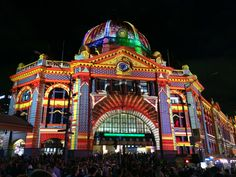 Melbourne is, with no doubt, one of world's most livable cities and it was ranked on the first place for three consecutive years. Festival Photography, Event Lighting, Melbourne Australia, Beautiful Lights, My World, Big Ben, Taj Mahal, Around The Worlds, Colours