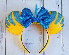 Flounder - Little Mermaid Inspired Ears