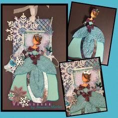 Julie Nutting Prima Doll Tag - Aurora Winter Queen
