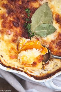 Butternut Squash Dauphinoise aka Butternut Squash au gratin. All the comfort of the beloved creamy potato dish without the carbs!