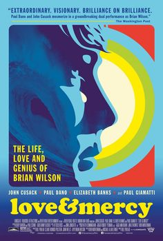 US one sheet for LOVE &  MERCY (Bill Pohlad, USA, 2015) ▪ Designer: Kii Arens ▪ Poster source: IMPAwards