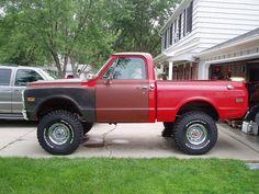 Chevy K10, 67 72 Chevy Truck, Classic Chevy Trucks, Chevrolet Trucks, Gm Trucks, Lifted Trucks, Cool Trucks, Pickup Trucks, Chevrolet Blazer