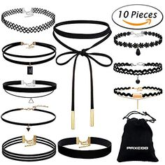 Choker Necklace From Amazon ** You can find more details by visiting the image link.Note:It is affiliate link to Amazon. #l4l