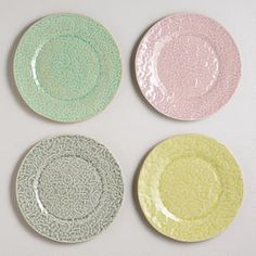 Lace Plates--- LOVE!