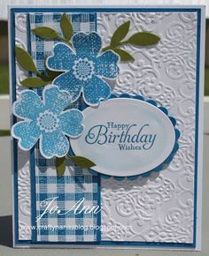 . Love the SU Flower Shop stamp set.