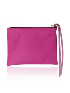 """53% OFF Jesse and Co. Women's Personalized """"D"""" Pouch, Pink"""