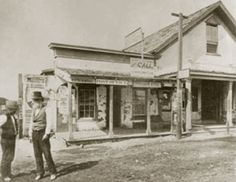 George B. Chester's  store on 19th and Chester Avenue. Bakersfield, CA. George and his brother Julius arrived in Bakersfield in 1866 Their first general store was named Livermore and Chester. George was Bakersfield first Postmaster