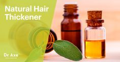 Essential oils that can be used as a hair thickener.