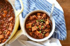 Chipotle Sweet Potato Chili with Walnuts | Tasty Kitchen: A Happy Recipe Community!
