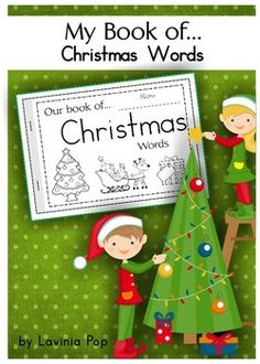 My Book of Christmas Words (free; from Lavinia Pop on TpT)