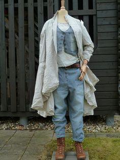 Hose Trouser Striped Twill / Ewa i Walla / Detailvernarrt.de / nostalgische Kleider / skandinavische Mode