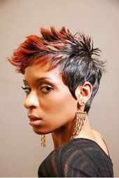 Hair Color Trends  2017/ 2018   Highlights :  african american short hairstyles