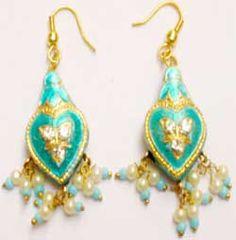 Lakh lac  earrings