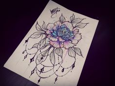 #hamstertattoo #VIPTATTOO #graphicarts #drawing #flowersketch #artist #tattoo #design #pion #watercolor