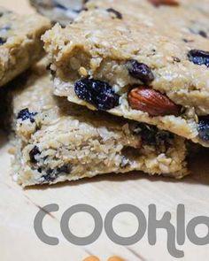 Μπάρες βρώμης χωρίς ζάχαρη - Mpares vromis horis zahari Sweets Recipes, Vegan Recipes, Desserts, Krispie Treats, Rice Krispies, Healthy Snacks, Cereal, Cookies, Breakfast