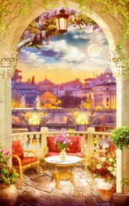 Фрески КЛАССИЧЕСКИЕ « Фото Фреска Miracle Garden, Hindu Deities, 3d Wallpaper, Illustration Art, Photoshop, Landscape, Amazing, Backgrounds Free, Palaces