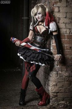 High res photo of Arkham Knight Harley Quinn printed on 11x17 cardstock. All photos come signed! If you would like yours personalized, please specify in your order notes!  Photo by Adam Patrick Murray. Costume by Maise Designs.