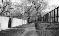 Mied van der Rohe - Detroit - Nicolet Place two-story townhouses Ludwig Mies Van Der Rohe, Lafayette Park, Grand Hotel, Great Lakes, Townhouse, Detroit, Michigan, National Parks, Tours