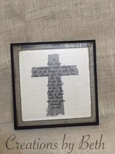I have been crucified with Christ 8x8 wooden sign with cross design