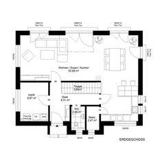 grundriss erdgeschoss huf haus modum 8 10 fachwerk von. Black Bedroom Furniture Sets. Home Design Ideas