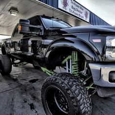 Lifted Ford Truck...