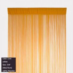 Wholesale (12 pieces/lot) 3'x9'(90x275cm) Decorating Corn yellow string curtain for home decor and wall decor Free shipping on AliExpress.com. $188.76