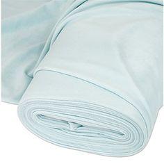 Tissu velours nicky, vert menthe clair | acheter en ligne sur buttinette - loisirs créatifs