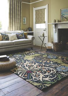 Morris and co seaweed rug arts and crafts