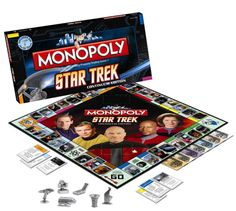 Inspired by the latest Star Trek movie the traditional board games like Monopoly now have a Star Trek version - Star Trek Monopoly Continuum edition!