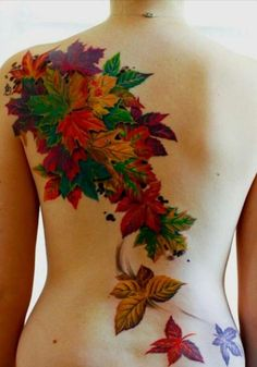 50+ Examples of Colorful Tattoos   Art and Design.  STUNNING artwork and colors!