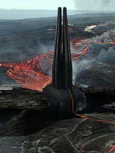 Darth Vaders castle