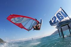This is one of our favorite windsurf spots in Greece: Lefkada!!! Book your trip with sun+fun Sportreisen.