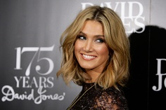Hair style & colour Delta Goodrem - David Jones Celebrates 175 Years