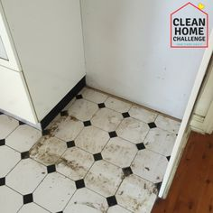 These disgusting things that need to be cleaned in your home ASAP. When did you last clean under your fridge or behind your oven? Chocolate Martini, Cleaners Homemade, Clutter, Cleaning Hacks, Tile Floor, Flooring, Oven, Challenge, Crafts