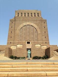 A Voortrekker Monument Empty Tomb, Pretoria, Iron Fist, Our Country, My Land, Afrikaans, Zebras, South Africa, Mosaic