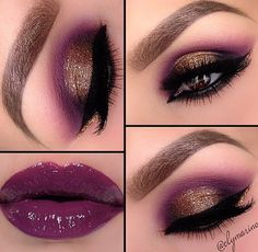 Never been a fan of dark lips but love the eyeshadow colors