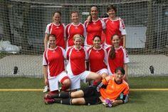 Die Fußballfrauen der FAU holten bei der Kleinfeld DHM 2015 in Wiesbaden den starken 4. Platz