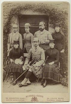 Albert Edward, Alexandra Caroline, Albert Victor, George Frederick, Louise Victoria, Victoria Alexandra and Maud Charlotte
