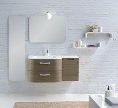 Spiegelschrank Wand montiert Ideen modern