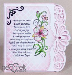 Heartfelt Creations | Regal Lily Swirls