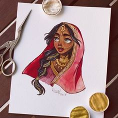 Playing with copics and watercolours :) Cartoon Drawings, Cartoon Art, Cute Drawings, Character Art, Character Design, Mode Poster, Poses References, India Art, Marker Art